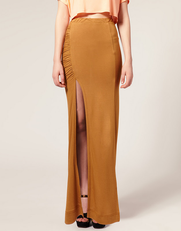 Just Skirts And Dresses Inspiration: My Gucci Side Split Maxi Skirt/dress Inspiration