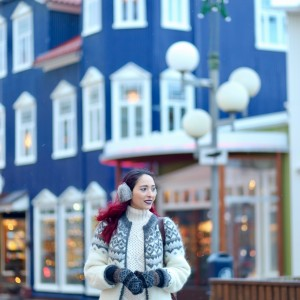 5 days in Akureyri: snow storm and Icelandid cardigan